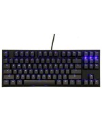 Ducky ONE 2 TKL LED Double Shot Black & Black Switch (English & Arabic) Gaming Mechanical Keyboard, DKON1787ST-CARALAZT1