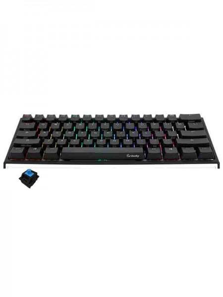 Ducky ONE 2 MINI RGB Light Blue & Black Swith
