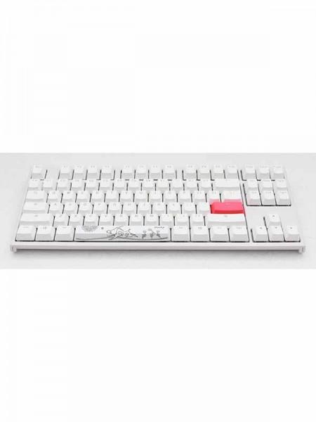 Ducky ONE 2 TKL RGB White & Red Switch (Englis