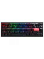 Ducky ONE 2 TKL RGB Black & Slient Red Switch (English & Arabic) Gaming Mechanical Keyboard, DKON1787ST-SARALAZT1
