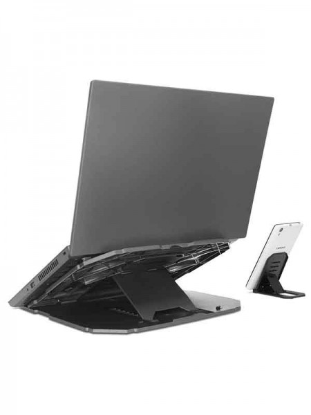 Lenovo 2-in-1 Laptop Stand, Gray - GXF0X02619