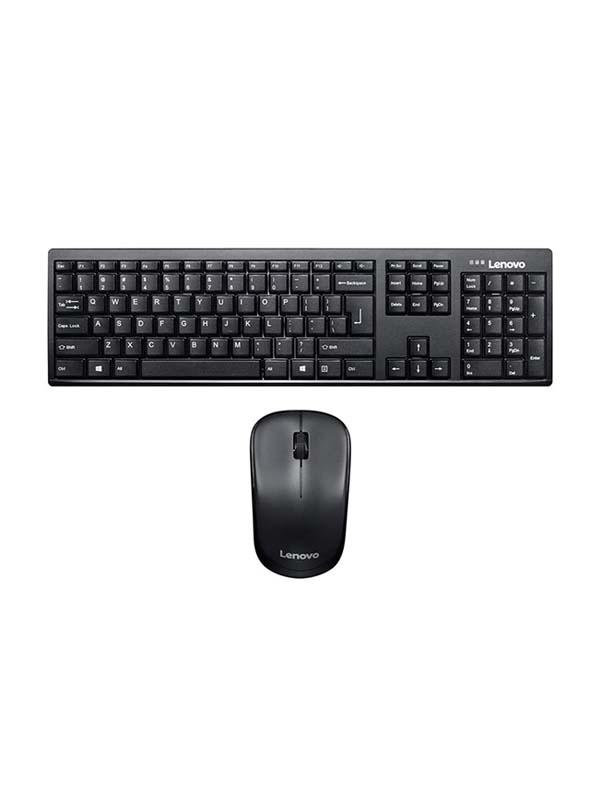 LENOVO 100 Wireless Keyboard & Mouse Combo (English)   GX30L66303
