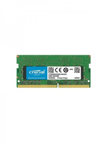 CRUCIAL 16GB Single DDR4 2400 (PC4 19200) 260-Pin