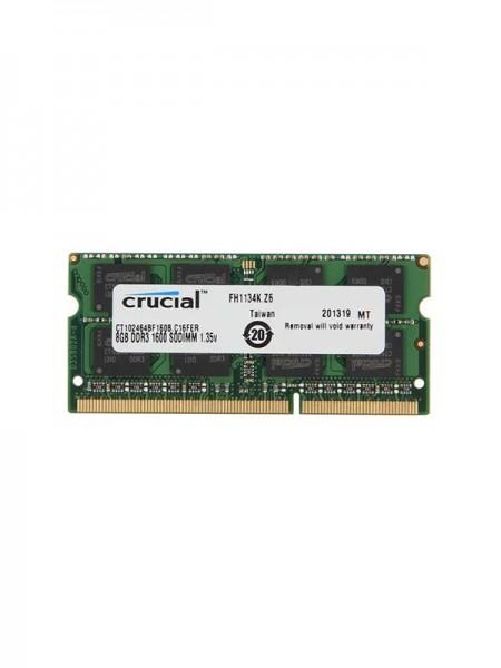 CRUCIAL 8GB 204-Pin DDR3 SO-DIMM DDR3L 1600 (PC3L