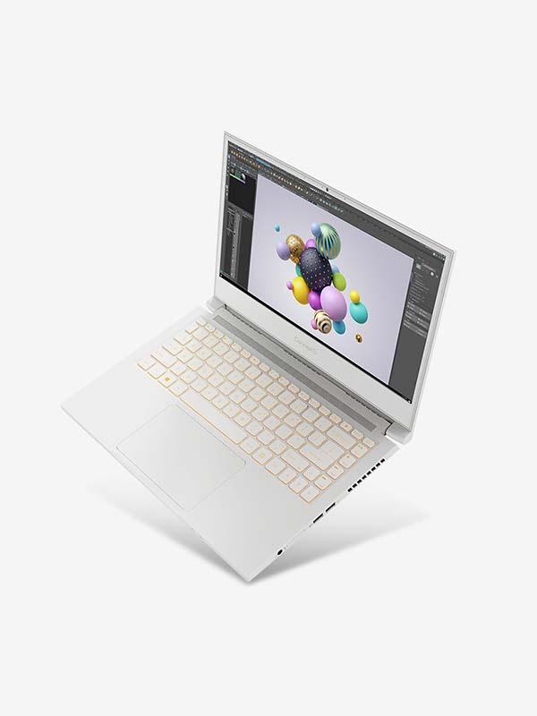 ACER ConceptD 7 Ezel, Xeon W-10885M, 32GB, 1024GB + 1024GB SSD, NVIDIA Quadro RTX5000 (16GB), 15.6 inch UHD (3840 x 2160) with Windows 10 Pro   NX.C5FEM.001