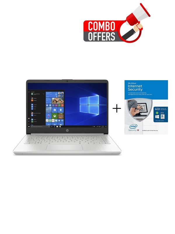 HP 14-DQ2055WM, Core i3-1115G4 (4.1GHz), 4GB, 256GB SSD, UHD Graphics, 14 inch FHD (1920 x 1080) with Windows 10 Home (S Mode) | 39K15UA#ABA