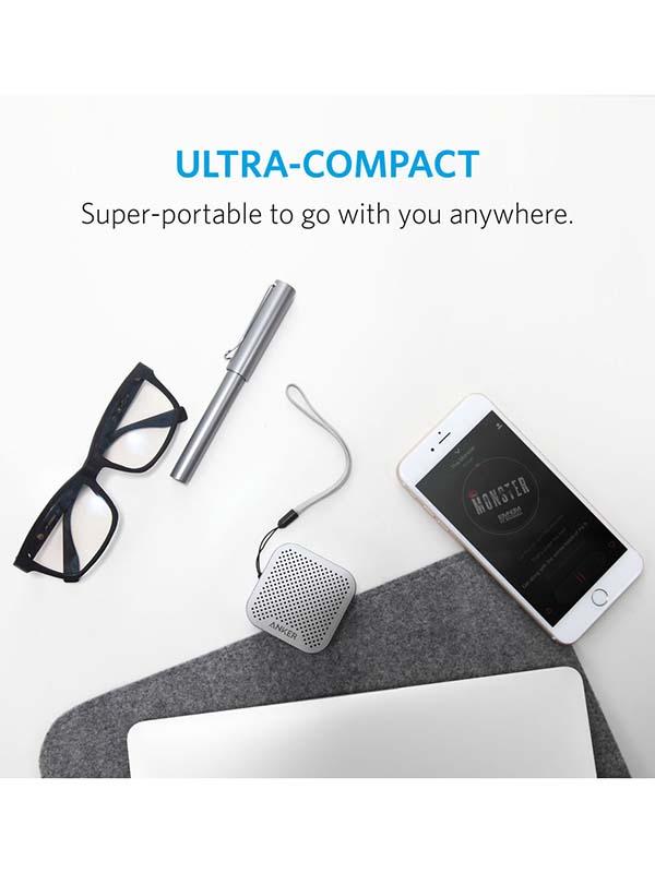 Anker SoundCore Nano Wireless Bluetooth Speaker, Grey with Warranty