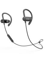 Anker Soundbuds Curve In Ear Lightweight Sports Waterproof Wireless Bluetooth Headphones, Black with Warranty