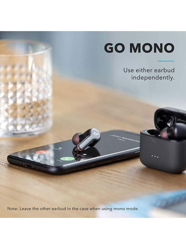 Anker Soundcore Liberty Air 2 True Wireless Earbuds, Targeted Active Noise Cancelling Wireless Earphones, Black with Warranty