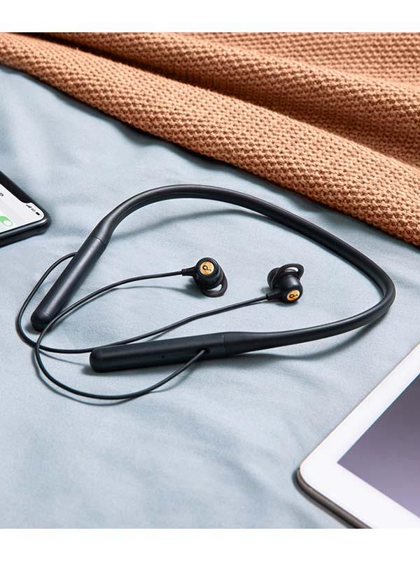 Anker Soundcore Life U2 Flexible Wireless Bluetooth Neckband Headphones, Black with Warranty