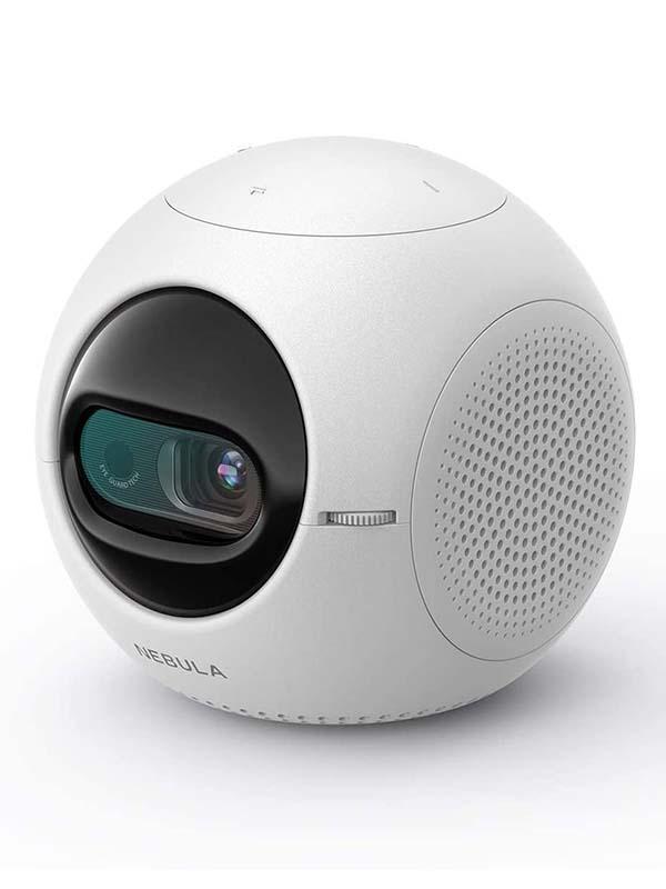 Nebula D2400221 Astro Mini Portable Pocket Cinema Projector, White with Warranty
