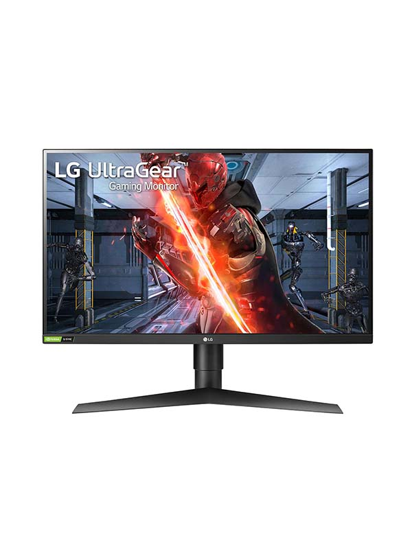 """LG 27"""" 27GN750 UltraGear FHD IPS 1ms 240Hz G-Sync Compatible HDR10 3-Side Virtually Borderless Gaming Monitor 