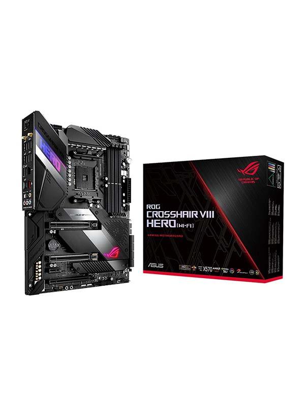 AMD X570 ATX Gaming Motherboard with PCIe 4.0, 16 power stages, OptiMem III,ROG Crosshair VIII Hero
