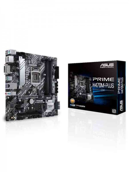 ASUS Prime H470M-Plus Gaming Motherboard, CSM LGA1