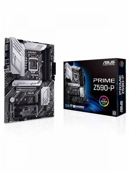 Asus Prime Z590-P, Intel Socket 1200, 4 x SATA &am