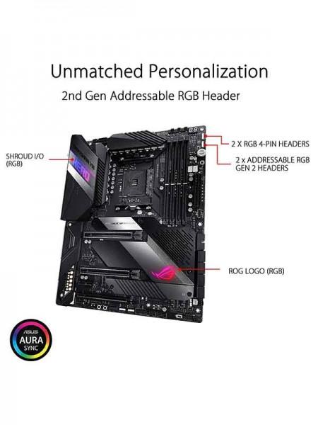 Asus ROG Crosshair VIII Hero, AMD X570 ATX gaming