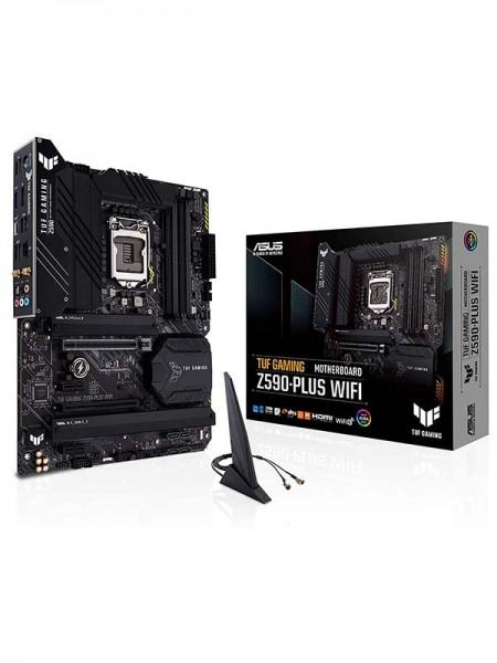 Asus TUF Gaming Z590 Plus WIFI Intel LGA 1200, Max