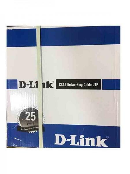D-Link NCB-C6UGRYR-305-24 CAT6 UTP 24AWG Solid Net