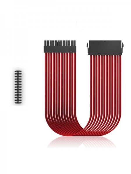 DEEPCOOL PSU Cable EC300 24P-RD Red with Warranty
