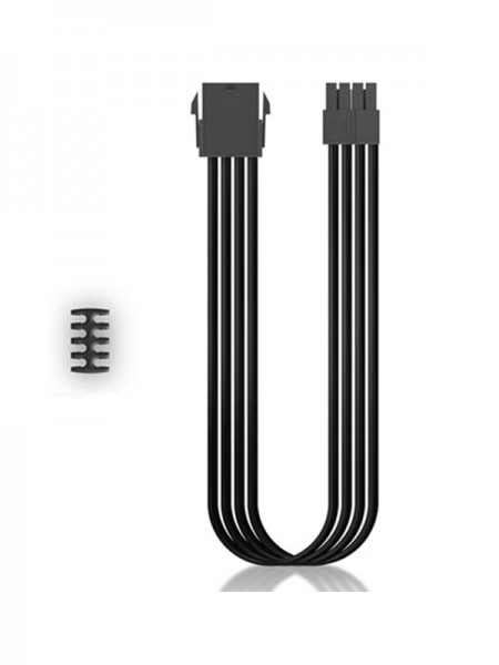 DEEPCOOL PSU Cable EC300 CPU8P-BK Black with Warra