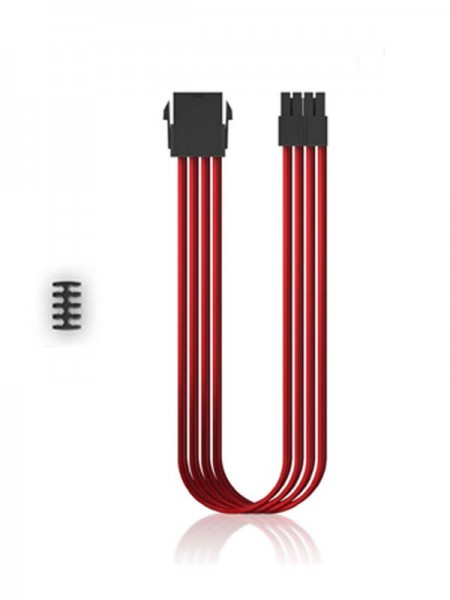 DEEPCOOL PSU Cable EC300 CPU8P-RD Red with Warrant