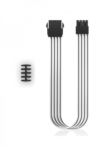 DEEPCOOL PSU Cable EC300 CPU8P-WH White with Warra
