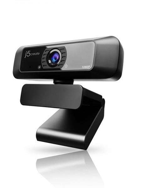 J5Create USB HD Webcam with 360° Rotation, 1080p @