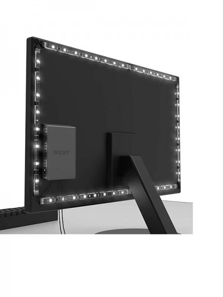 NZXT HUE 2 Ambient RGB Lighting Kit Components For