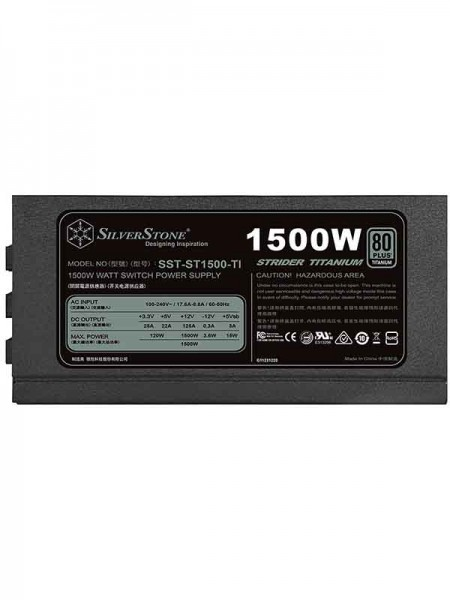 SilverStone ST1500-TI 1500 Watt Strider Titanium S