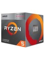 AMD Ryzen 5 3400G with Radeon RX Vega 11 Graphics 4-Core 3.7 GHz Socket AM4 65W Desktop Processor | YD3400C5FHBOX