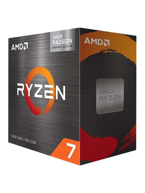 AMD Ryzen 7 5700G, 8 Core, 16 Threads Desktop Processor   100-100000263BOX