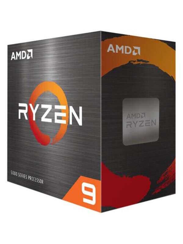 AMD Ryzen™ 9 5950X, 16 Core, 32 Threads, Desktop Processors without Fan   100-100000059WOF