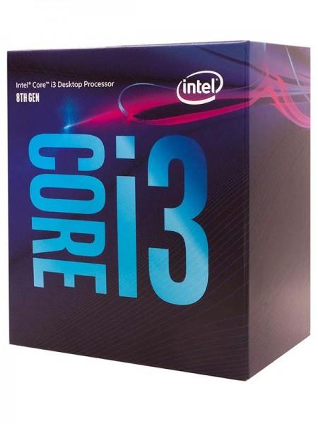 INTEL Core i3-8100 Desktop Processor, 6M Cache, 3.
