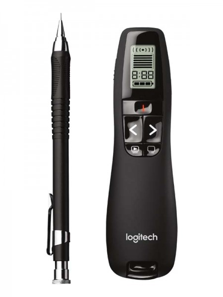 LOGITECH R700 Wireless Presenter – Black | 910-003