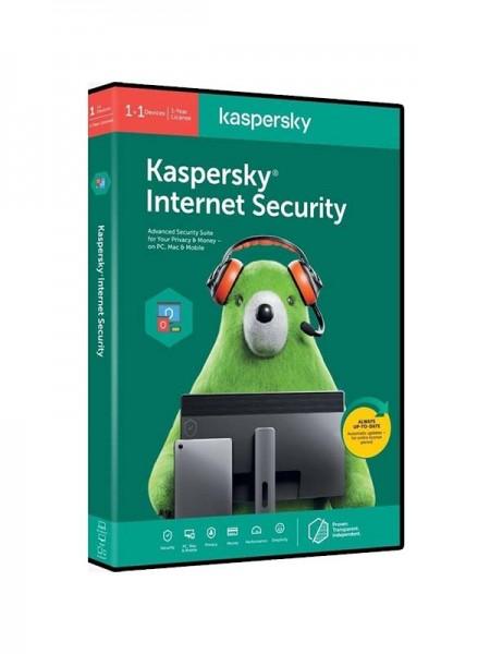 KASPERSKY KIS2PCRT2020 Internet Security 2020 1+1