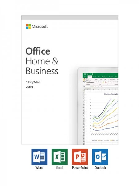 MICROSOFT Office 2019, Home & Business ESD MEA