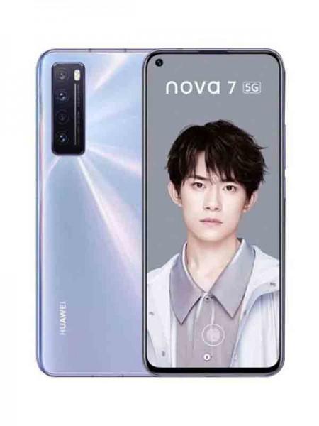 Huawei Nova 7 Dual SIM 256GB 8GB RAM 5G, Space Sil