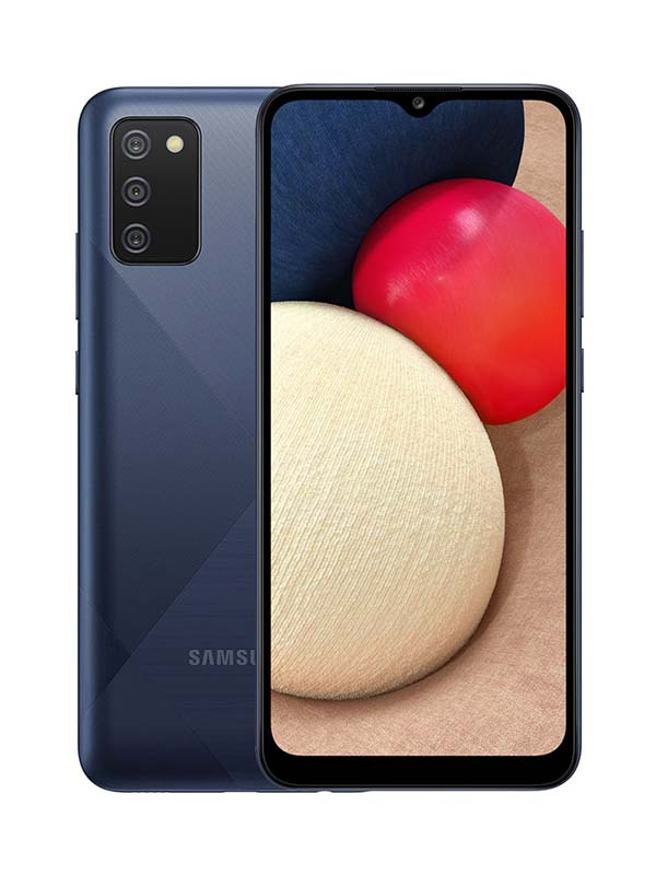 Samsung Galaxy A02s Dual SIM 32GB 3GB RAM 4G LTE, Blue with Warranty