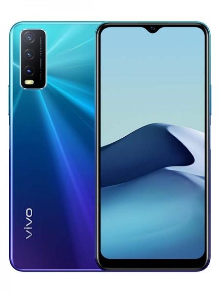 Vivo Y20 Dual SIM 64GB 4GB RAM 4G LTE, Nebula Blue