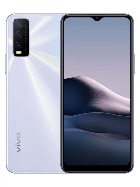 Vivo Y20 Dual SIM 64GB 4GB RAM 4G LTE, Dawn White