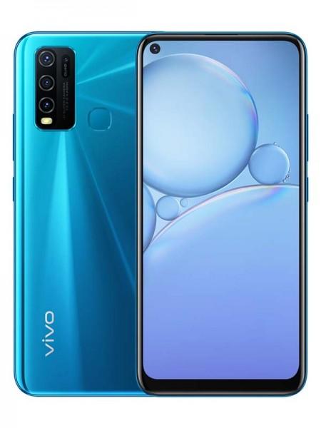 Vivo Y30 Dual SIM 128GB 4GB RAM 4G LTE, Dazzle Blu