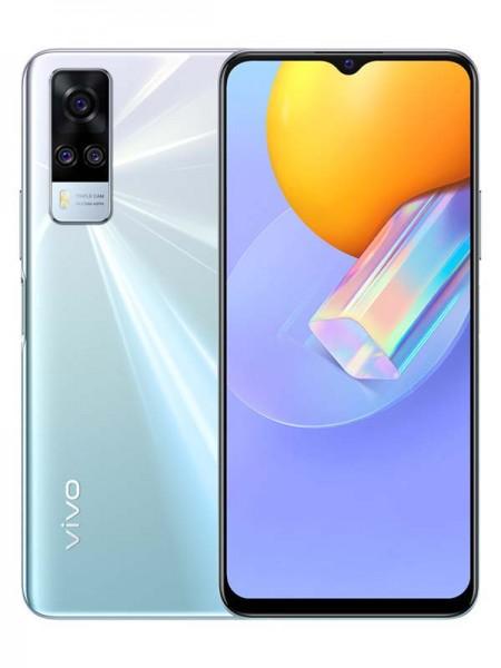 Vivo Y51 Dual SIM 128GB 8GB RAM 4G LTE, Crystal Sy